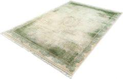 Karpet24.nl Merinos - Retro Acryl Vloerkleed - Klassiek Design - Groen-200 x 290 cm
