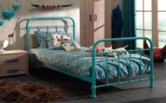 Vipack Furniture Vipack Metallbett New York 120x200 cm, türkis