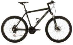 KS Cycling MOUNTAINBIKE HARDTAIL 26 ZOLL 24 GÄNGE GXH MTB Fullsuspension Herren schwarz