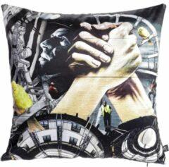 Gele Dividere Home Dividere Heerlen Urban Mix - Sierkussen - The Heerlen Handshake (45 x 45)