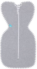 Grijze Love To Dream Swaddle Up Grey Medium 6-8.5 kg Inbakerslaapzak L1001001GRM