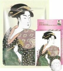Witte Mitomo Japan Mitomo™ Royal Jelly & Cherry Blossom Gezichtsmasker - Anti Aging Face Mask - Gezichtsverzorging Masker