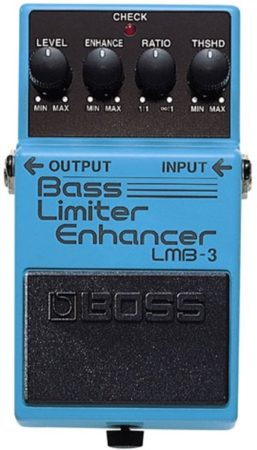 Afbeelding van Blauwe Boss LMB-3 Bass Limiter Enhancer bas compressor/boost/dynamics pedaal