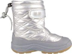 Grijze Winter-grip Quilt - Snowboots - Meisjes - Zilver - Maat 35
