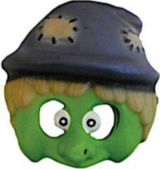 Amscan Masker Junior 18,4 Cm Blauw/groen One-size