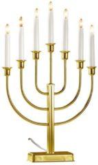 Kerzenleuchter 7-flammig Star Trading Gold