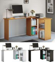 """VCM Eckschreibtisch Schreibtisch Büromöbel Computertisch Winkeltisch Tisch Büro """"Lusias"""""""
