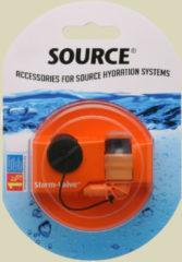Source Ltd. Storm Valve Ersatzventil für Trinksysteme orange