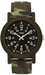 Timex Original Camper groen Tan Camo - Polshorloge - Groen - Ø 36 mm