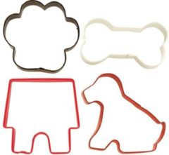 Rode Wilton Cookie Cutter Pet Theme set/4