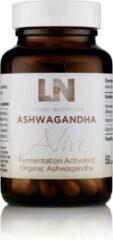 Living Nutrition / Gefermenteerde Ashwagandha Capsules – Bio 60 stuks