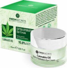 Fresh Secrets Oogcrème Extra Hydraterend *Cannabis Olie* 15ml