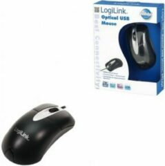 LogiLink ID0011 WiFi-muis USB Optisch Zwart