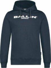 Ballin Slim fit blauw sweaters lente/zomer 2020 Unisex Hoodie Maat 140