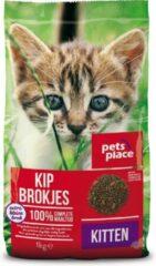 Pets Place Kitten - Kattenvoer - Kip - 1 kg