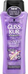 Schwarzkopf gliss kur shampoo - control & anti-frizz 250 ml