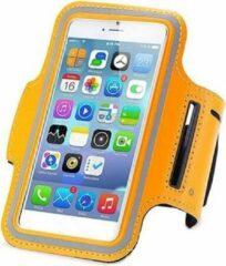 Qatrixx Sports armband case Oranje Orange voor Apple iPhone 7 Plus