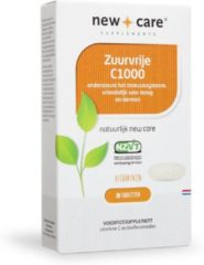 New Care Zuurvrije Vitamine C1000 - 30 Tabletten - Vitaminen