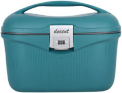Donkergroene Decent Sportivo Beautycase Dark Green