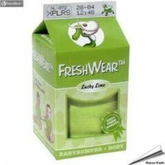 Freshwear - Romper Medium 62/68 - Limegroen