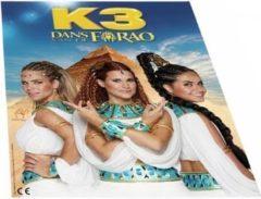 K3 - Puzzel - en poster - in tube - van de film K3 Dans van de Farao - 100 stukjes