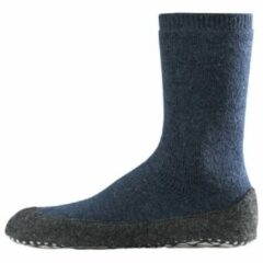 Blauwe Falke - Cosyshoe - Hutpantoffels maat 37-38 zwart/blauw