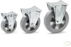 Fetra Zwenkwiel 160 x 50 mm, Elastisch streeploos rubber
