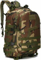 Merkloos / Sans marque Backpack - Militair Tactisch - Camouflage - Wandelrugzak - Rugtas - Rugzak - 55 Liter