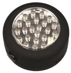 Zwarte Merkloos / Sans marque LedGet Rondo Werklamp/Zaklamp met Haak en Magneet