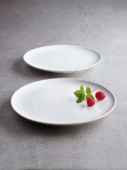 SanoDeGusto - tempcontrol bord voor Kerstdiner - koude gerechten - 27cm - wit - 2 stuks