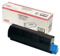 OKI C3200 tonercartridge zwart standard capacity 1.500 paginas 1-pack