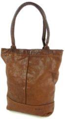 Bruine Justified bags Amber shopper brown