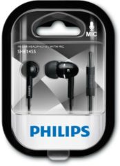 Philips SHE1455BK/10 koptelefoon Intraauraal In-ear Zwart