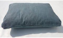 Rückenkissen Loungekissen 60x43cm Ice Blue Extra Comfort Famous Home Blau