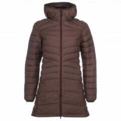 Backcountry - Women's Long 750 Down Jacket - Donzen jack maat XS, bruin/zwart