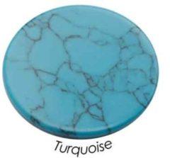 Quoins QMN-M-T Disk Precious Turquoise Medium