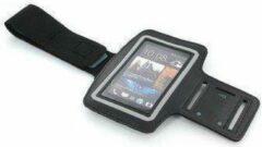 LAYMA HTC ONE M7/ M8 Zwart Sportband Sportarmband Hardloop Sport Armband