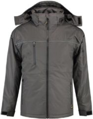 Donkergrijze TRICORP WORKWEAR Tricorp Midi parka - Workwear - 402004 - Donkergrijs - maat M