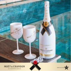 Moet & Chandon Moët & Chandon Ice Imperial Champagneglazen - 450 ml - Wit - 2 stuks