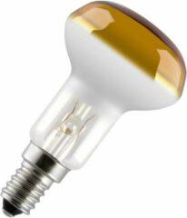 Gloeilampgoedkoop.nl Reflectorlamp R50 - 25W - E14 - 85mm - 50mm - Geel