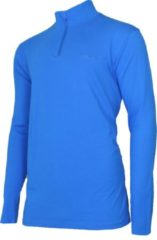 Campri Roll Neck 1/4 Zip Wintersportpully - Maat XXL - Mannen - blauw