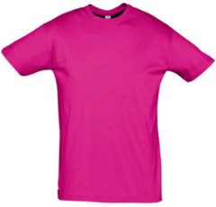 Paarse T-shirt Korte Mouw Sols REGENT COLORS MEN