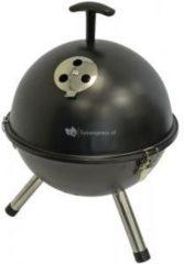 Lesliliving Kogelbarbecue - Tafelbarbecue - Ø32cm - zwart - BBQ - Barbeque - Houtskool