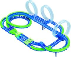 Blauwe Wave Racers racebaan Mega Match Raceway 86-delig