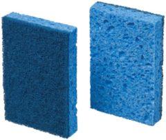 Blauwe Scotch Brite spons 770 blauw pak van 10 stuks