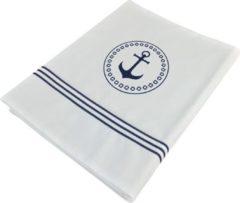 Marine Business Santorini 1-persoons wit Laken met Kussensloop