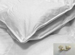 Witte Socratex Exquisite | donzen dekbed | 90% ganzendons | 4- seizoenen - 200x200 cm