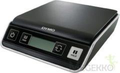 Zwarte Postweegschaal Dymo M2/ weegt tot 2 kg, gewichtsinterval van 1 gram