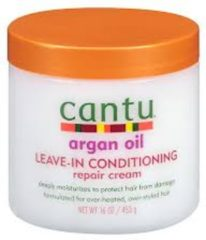 Cantu Argan Oil Leave In Conditioning Repair Cream 473 ml