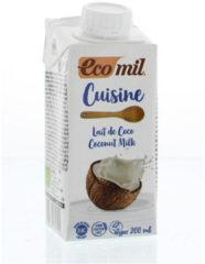 Ecomil Kokosmelk cuisine 200 Milliliter